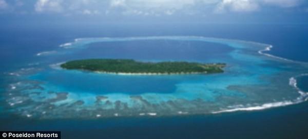 海中のホテル 「ポセイドン・アンダーシー・リゾート」の画像