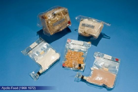 宇宙飛行士のために作られた食品 (2)