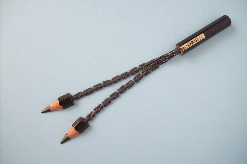 ハンガリーのアーティストによる複雑な彫刻が施された鉛筆がすごい (11)