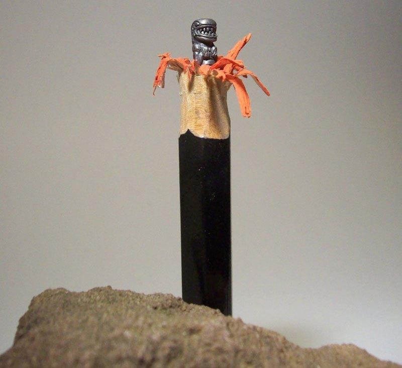 ハンガリーのアーティストによる複雑な彫刻が施された鉛筆がすごい (6)