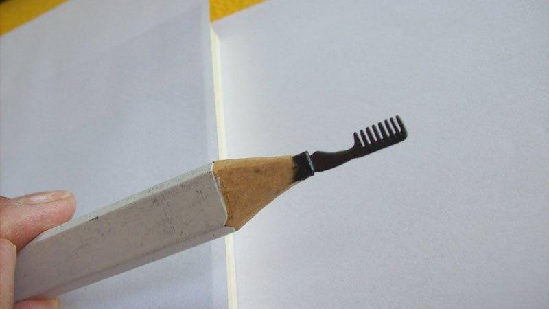 ハンガリーのアーティストによる複雑な彫刻が施された鉛筆がすごい (9)