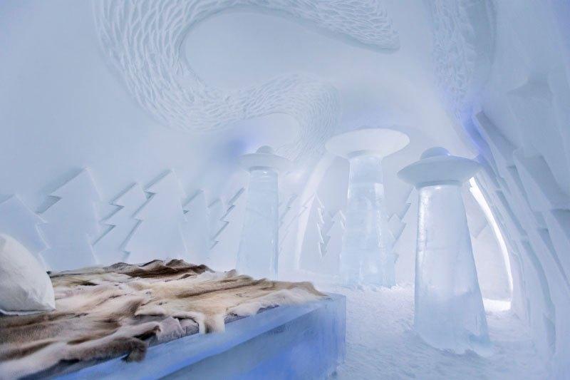 世界最大の氷と雪のアイスホテル (13)
