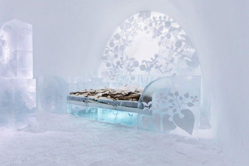 世界最大の氷と雪のアイスホテル (5)