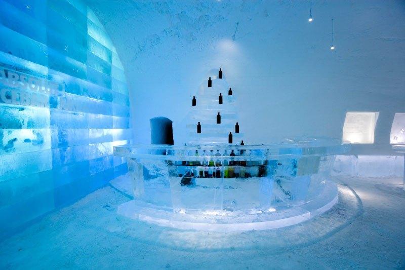 世界最大の氷と雪のアイスホテル (7)