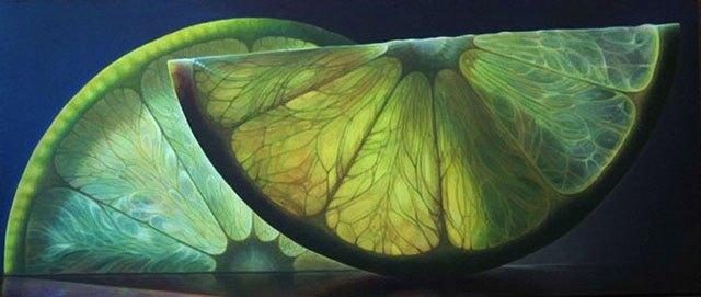 光と半透明の果実が美しい (1)