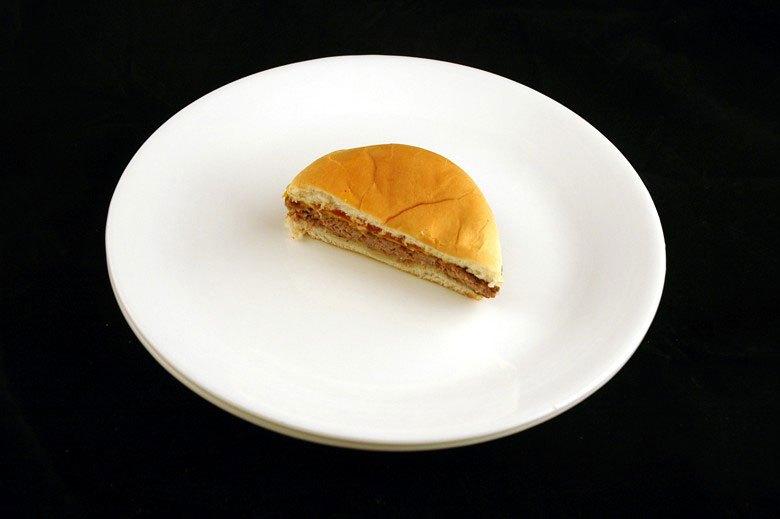 各種食品の200カロリーはどのように見えるか (13)