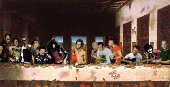 最後の晩餐 レオナルドのパロディー (10)