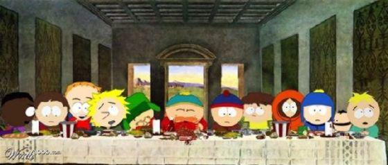 最後の晩餐 レオナルドのパロディー (13)
