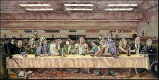 最後の晩餐 レオナルドのパロディー (21)