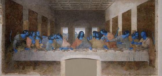最後の晩餐 レオナルドのパロディー (46)