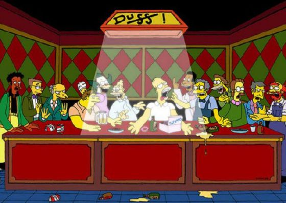 最後の晩餐 レオナルドのパロディー (6)