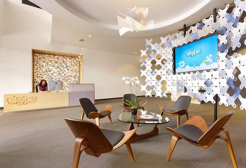 Skype スカイプのパロアルトのオフィス本部の画像!こんなオフィスで勤務したい (1)