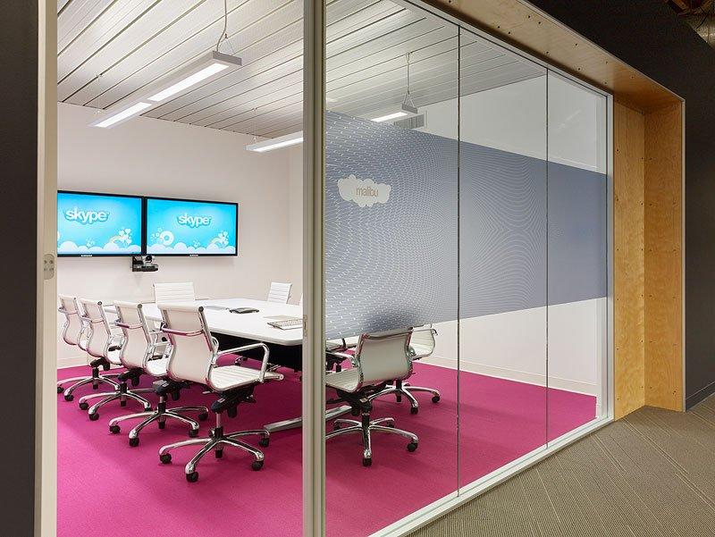 Skype スカイプのパロアルトのオフィス本部の画像!こんなオフィスで勤務したい (2)