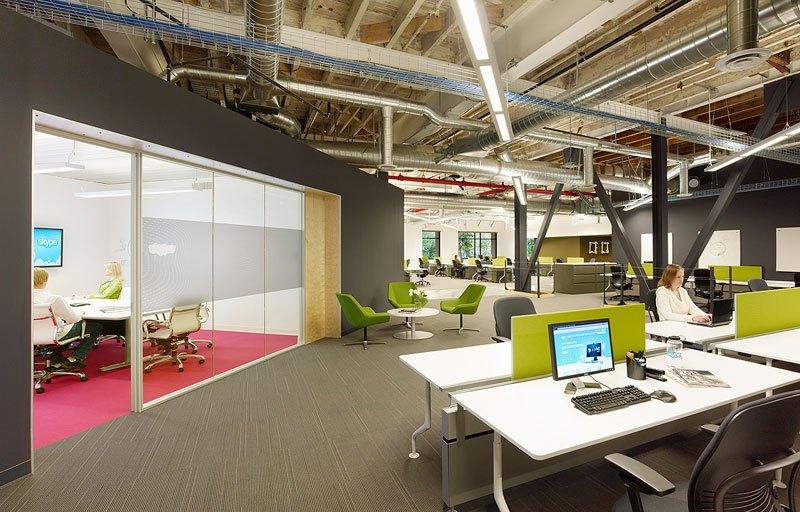 Skype スカイプのパロアルトのオフィス本部の画像!こんなオフィスで勤務したい (3)