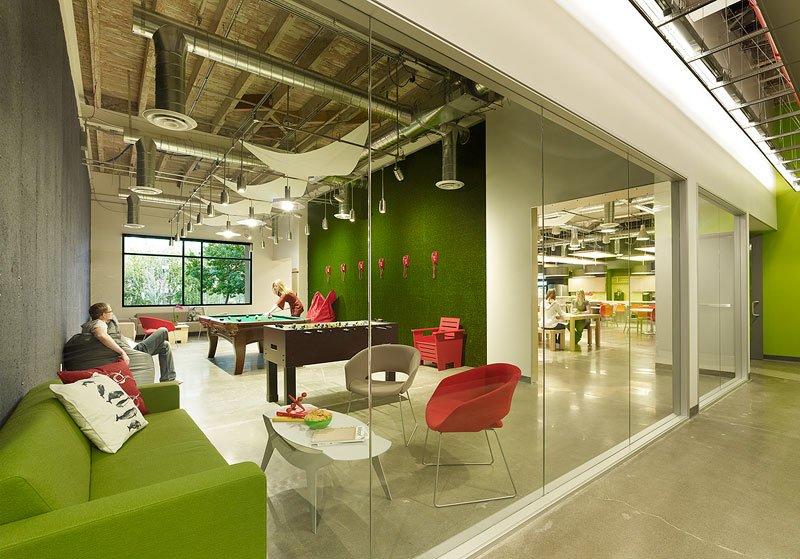 Skype スカイプのパロアルトのオフィス本部の画像!こんなオフィスで勤務したい (4)
