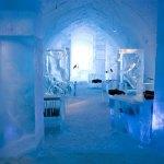 世界最大の氷と雪のアイスホテル