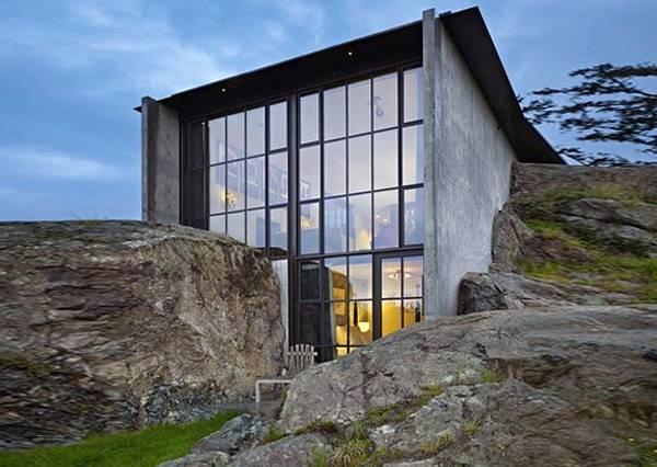 自然と一体化した建築 迷彩ハウス30枚