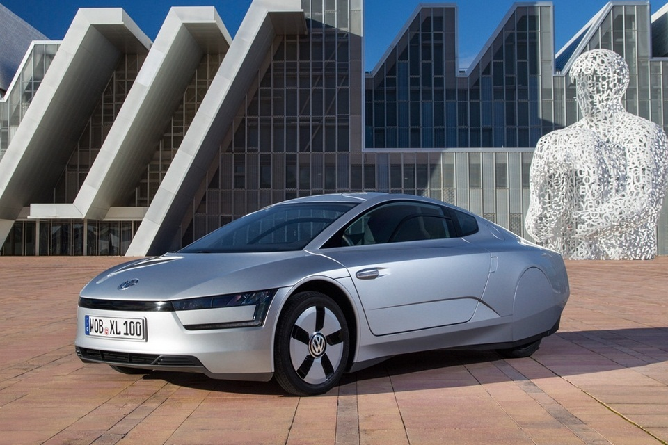 Volkswagen XL1 フォルクスワーゲンの新しいハイブリッド車